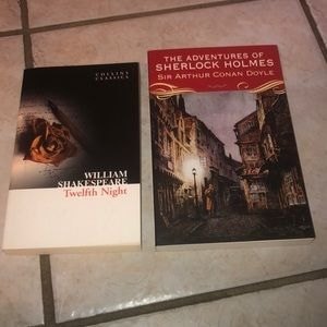 Two books for 15$